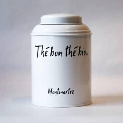 boîté à thé blanche