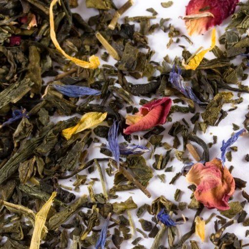 thé vert de pâques