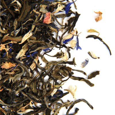 thé blanc de noël
