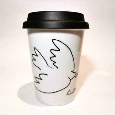 tasse nomade oiseau noir