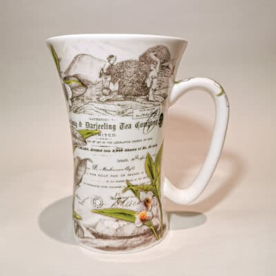mug porcelaine the