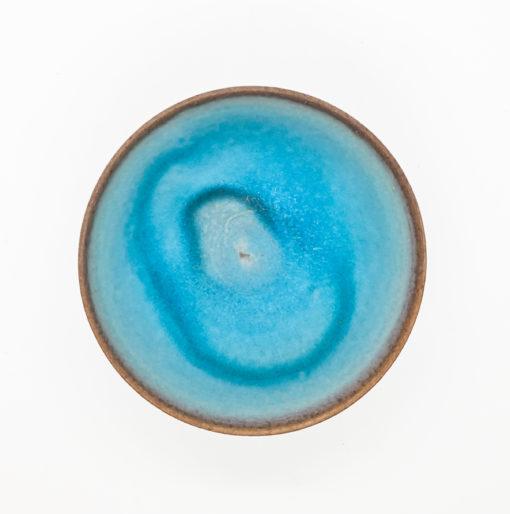 Bol thai bleu vif dessus 1