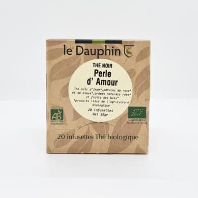 Dauphin sachets perles