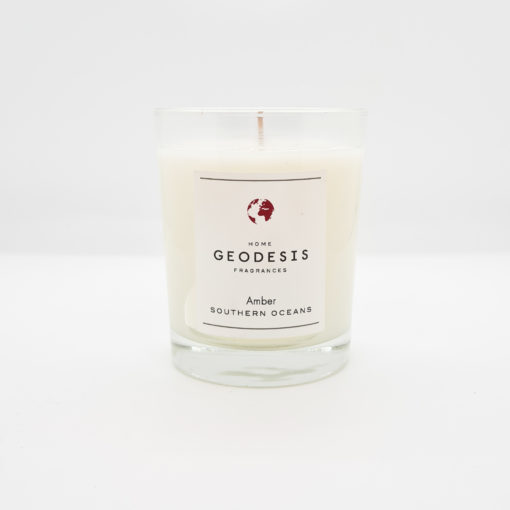 bougie geodesis ambre