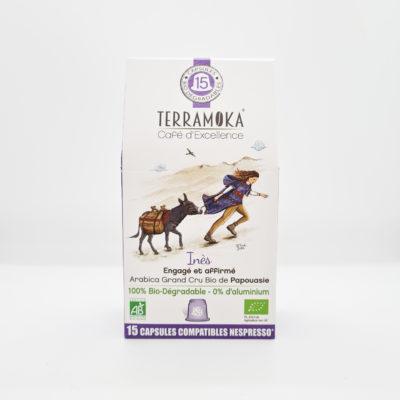 Inès Terramoka en capsules