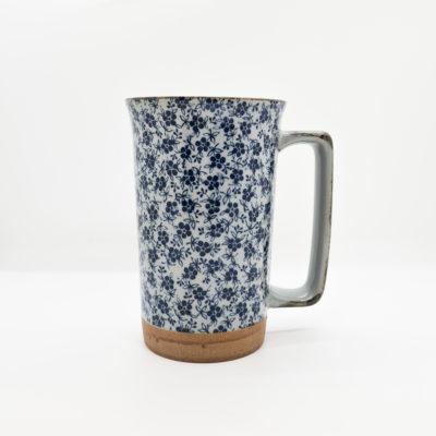Mug jap fleurs et feuilles
