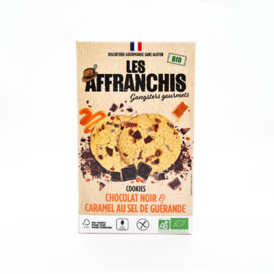 affranchis cookies chocolat caramel