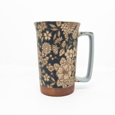 mug jap jardin brun