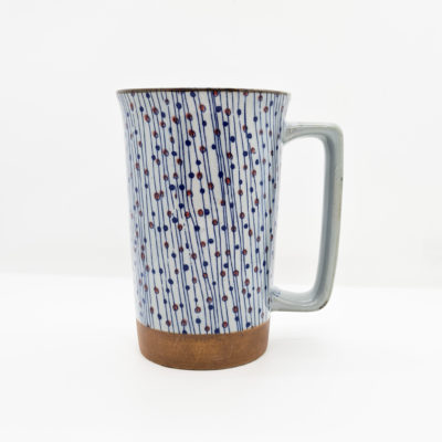 mug jap points fil bleu