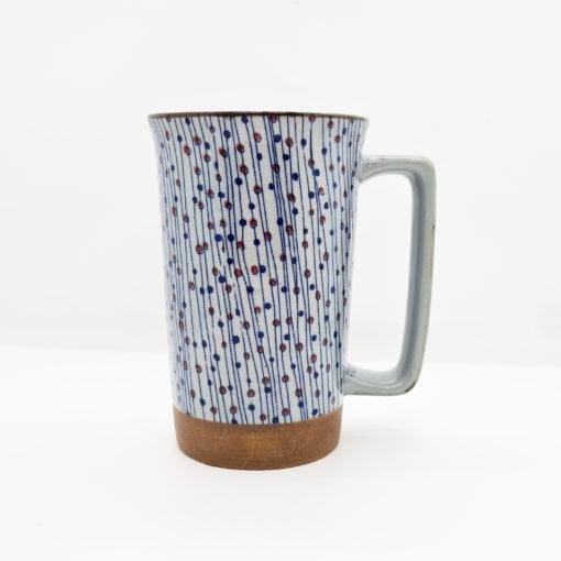 mug jap points fil bleu