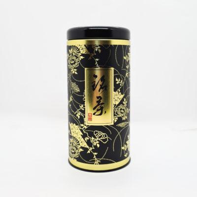 boite noire et dorée simple