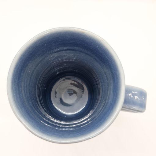 mug thai bleu foncé haut