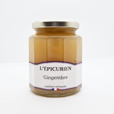confiture épicurien gingembre